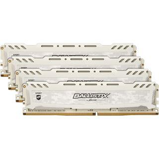 32GB Crucial Ballistix Sport LT V2 Single Rank weiß DDR4-3000