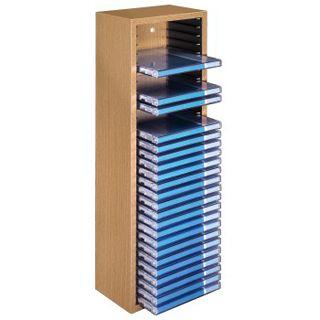 Hama CD-Box 30 buche Turm für Archivierung (00051228) - Aufbewahrung ...