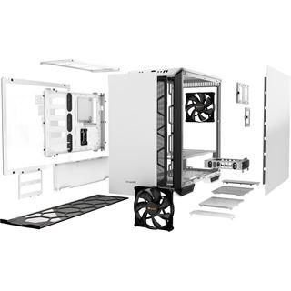 be quiet! Dark Base 700 White Edition gedämmt mit Sichtfenster