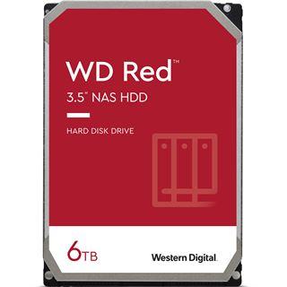 "6000GB WD Red WD60EFAX 256MB 3.5"" (8.9cm) SATA 6Gb/"