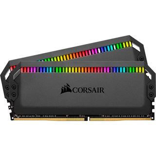 32GB Corsair Dominator Platinum RGB DDR4-3200 DIMM CL16 Dual Kit