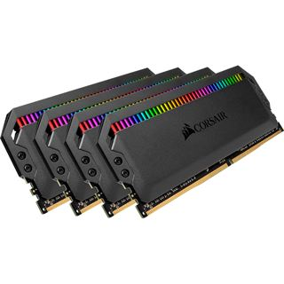 32GB Corsair Dominator Platinum RGB I DDR4-3200 DIMM CL16 Quad Kit