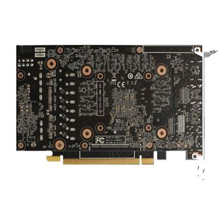 6GB ZOTAC GeForce GTX 1660 Ti Aktiv PCIe 3.0 x16 (Retail)