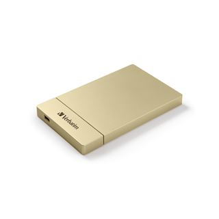 "Verbatim USB3.1 (2.5"") SATA3 HDD/SSD Enclosure Kit gold"