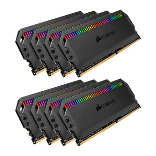 64GB Corsair Dominator Platinum RGB DDR4-3200 DIMM CL16 Octa Kit