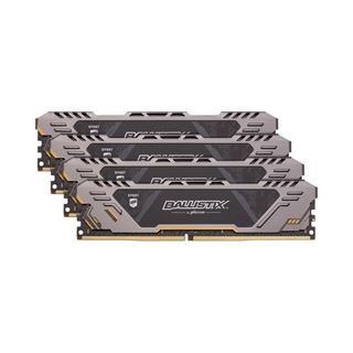 64GB Crucial Ballistix Sport AT V2 Dual Rank DDR4-3200 DIMM CL16 Quad