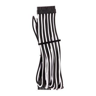 Corsair Premium Sleeved Kabel-Set (Gen 4), weiss/schwarz