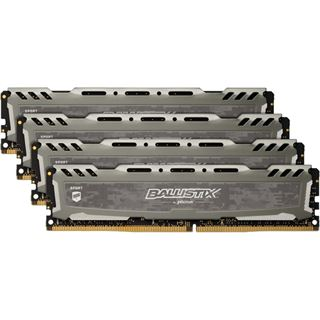 64GB Crucial Ballistix Sport LT V2 Dual Rank grau DDR4-3200 DIMM CL16