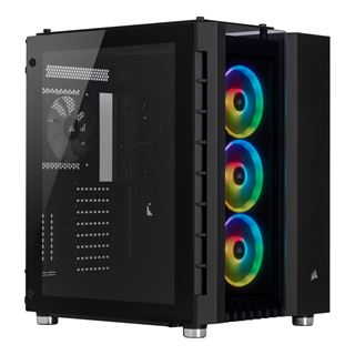 Corsair Crystal 680X RGB Midi-Tower - Window, schwarz