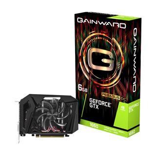 6GB Gainward GeForce GTX 1660 Pegasus OC Aktiv PCIe 3.0 x16 (Retail)