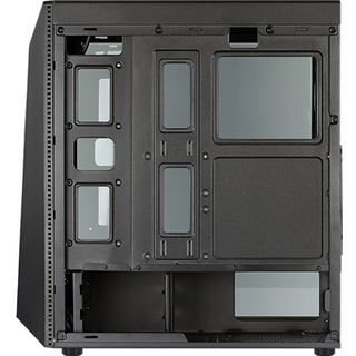 AeroCool Shard mit Sichtfenster Midi Tower ohne Netzteil schwarz
