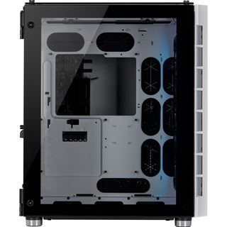 Corsair Crystal 680X mit Sichtfenster Midi Tower ohne Netzteil weiss