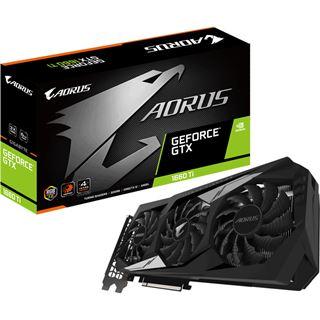 6GB Aorus AORUS GeForce GTX 1660 Ti 6GB GDDR6 192bit 1xHDMI 3xDP PCI