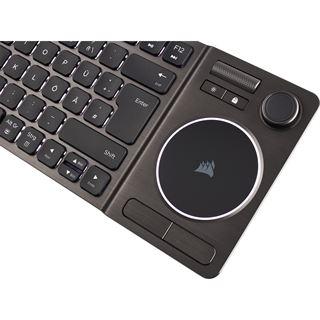 Corsair K83 USB 2.4GHz Bluetooth Deutsch schwarz (kabellos)