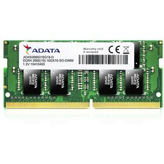 16GB ADATA Premier Series DDR4-2666 SO-DIMM CL19 Single