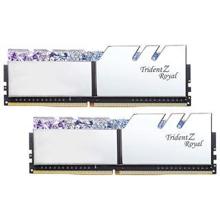 32GB G.Skill Trident Z Royal silber DDR4-3200 DIMM CL16 Dual Kit