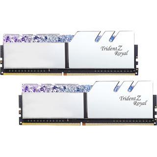 32GB G.Skill Trident Z Royal silber DDR4-4000 DIMM CL19 Dual Kit
