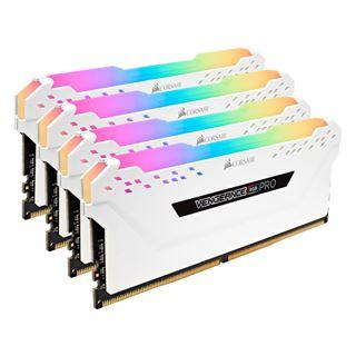 64GB Corsair Vengeance RGB PRO weiß DDR4-3600 DIMM CL18 Quad Kit