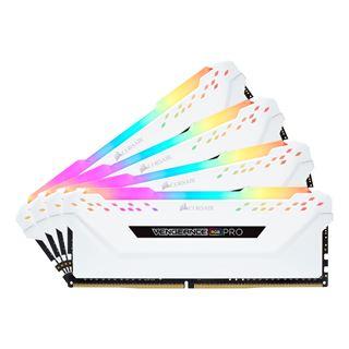 64GB Corsair Vengeance RGB PRO weiß DDR4-3466 DIMM CL16 Quad Kit