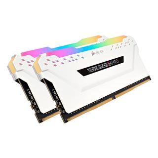 32GB Corsair Vengeance RGB PRO weiß DDR4-3466 DIMM CL16 Dual Kit