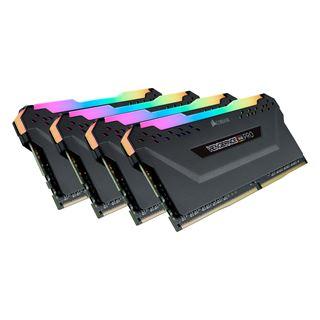 32GB Corsair Vengeance RGB PRO schwarz DDR4-3733 DIMM CL17 Quad Kit