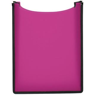 "Herma Heftbox ""Flexi"", aus PP, A4, transluzent-pink"