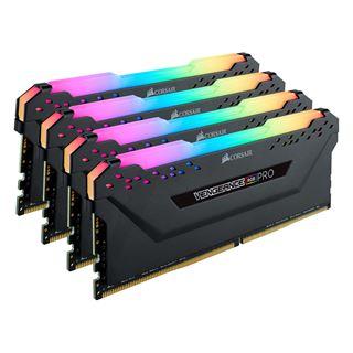 32GB Corsair Vengeance RGB PRO schwarz DDR4-3200 DIMM CL14 Quad Kit