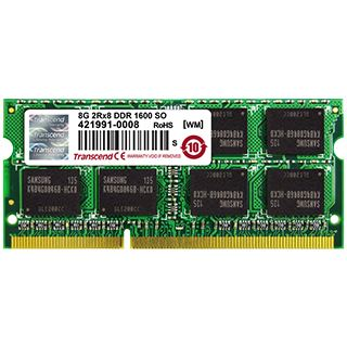 8GB Transcend JetMemory DDR3-1600 SO-DIMM CL11 Single