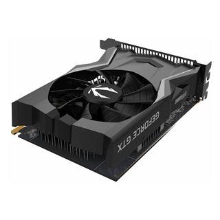 4GB ZOTAC GeForce GTX 1650 Gaming OC Aktiv PCIe 3.0 x16 (Retail)