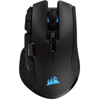 Corsair Maus Gaming Ironclaw RGB Wireless Backlit, schwarz