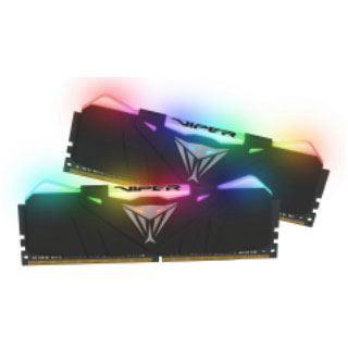 16GB Patriot Viper RGB schwarz DDR4-3600 DIMM CL17 Dual Kit