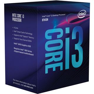 Intel Core i3 9100F 4x 3.60GHz So. 1151 BOX