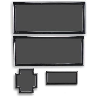 DEMCiflex Staubfilter-Set für Dark Base Pro 900 - schwarz