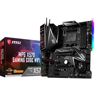 MSI MPG X570 GAMING EDGE WIFI AMD X570 So.AM4 Dual Channel DDR4 ATX