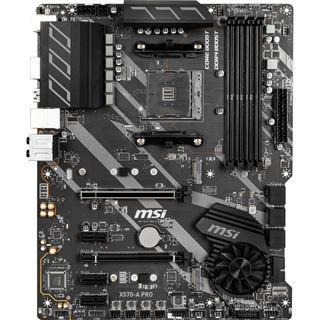 MSI X570-A PRO AMD X570 So.AM4 Dual Channel DDR4 ATX Retail