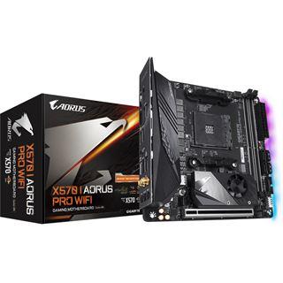 Gigabyte X570 I Aorus Pro WIFI AMD X570 So.AM4 Dual Channel DDR4
