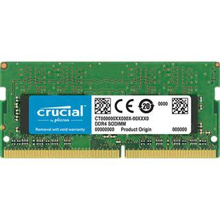 16GB (1x16GB) Crucial dual Rank DDR4-RAM PC3200 SO-DIMM CL22