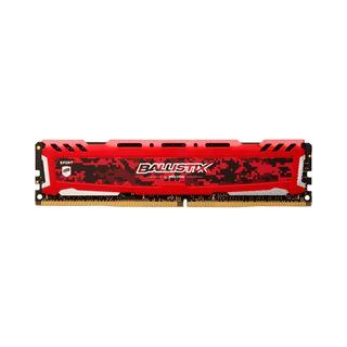 8GB Crucial Ballistix Sport LT, DDR4-2666 DIMM, CL16, Dual Kit
