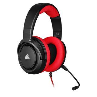 Corsair HS35 STEREO Gaming Headset, rot