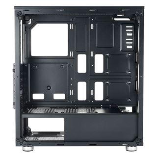 Azza Iris 330 mit Sichtfenster Midi Tower ohne Netzteil schwarz