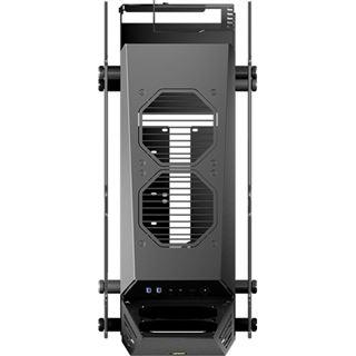 Cougar Conquer Essence Mini Tower ohne Netzteil schwarz/silber