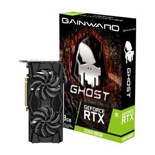 8GB Gainward GeForce RTX 2060 SUPER Ghost Aktiv PCIe 3.0 x16 (Retail)