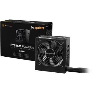 500 Watt be quiet! System Power 9 CM