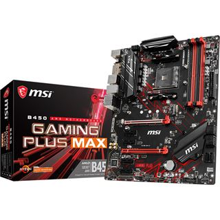 MSI B450 Gaming Plus MAX AMD B450 So.AM4 Dual Channel DDR4 ATX Retail