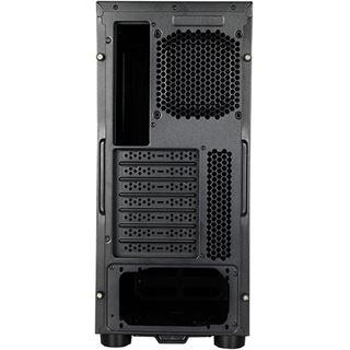 Chieftec Gamer AL-02B Hawk Midi Tower ohne Netzteil schwarz
