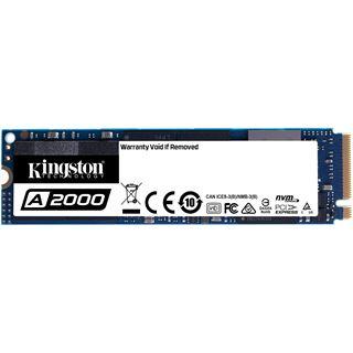 500GB Kingston SA2000M8/500G M.2 2280 PCIe 3.0 x4 NVMe 3D-NAND TLC
