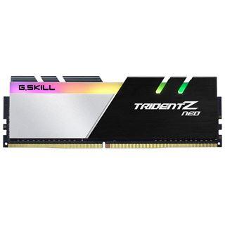 32GB G.Skill Trident Z Neo DDR4-3200 DIMM CL14 Quad Kit