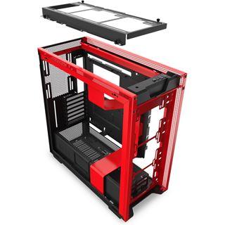 NZXT H710 Midi Tower ohne Netzteil schwarz/rot
