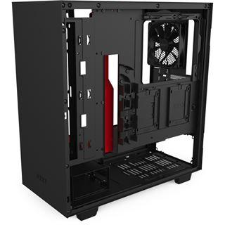 NZXT H510 Midi Tower ohne Netzteil schwarz/rot
