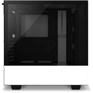 NZXT H510 Elite mit Sichtfenster Midi Tower ohne Netzteil weiss